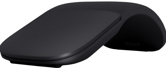 MICROSOFT Surface Arc Mouse - Muis - optisch - 2 knoppen - draadloos