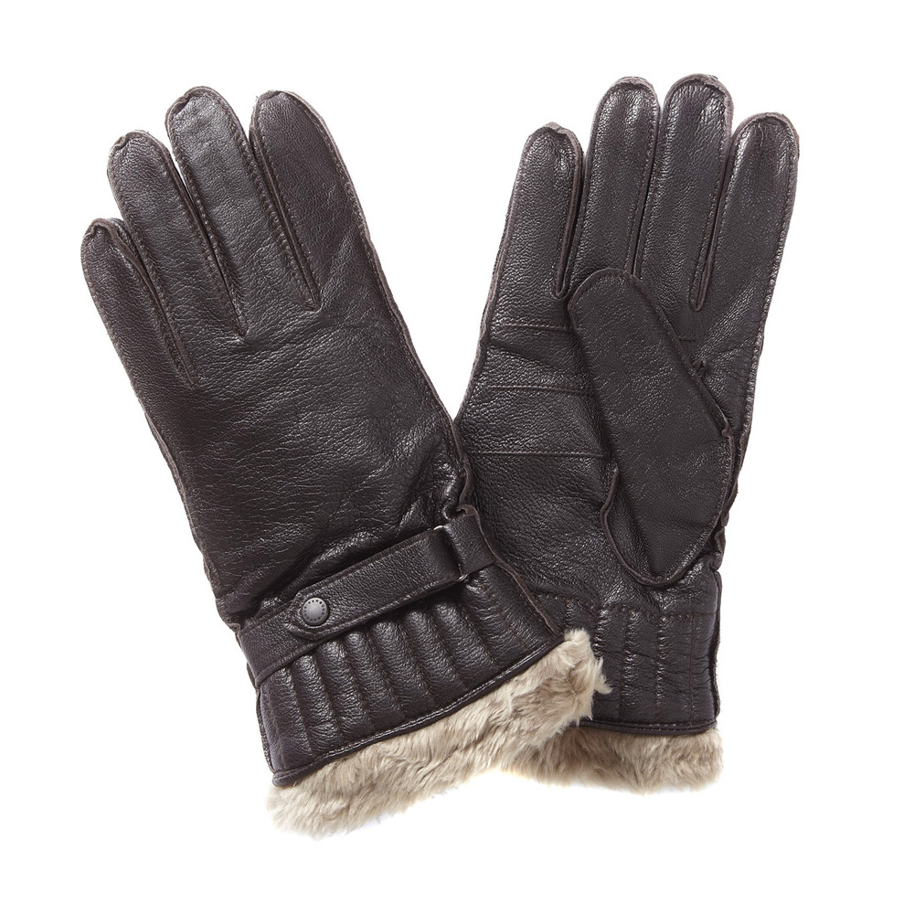 Handschoen Leather Utility Gloves Brown